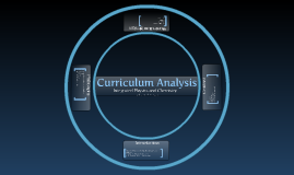 Copy of Curriculum Analysis