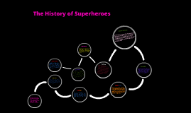The History Of Superheroes