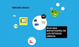 RIOS MAS IMPORTANTES DE LOS ESTADOS UNIDOS