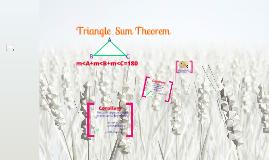 Triangle Angle Sum/Triangle Corollaries