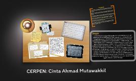 Copy of CERPEN: Cinta Ahmad Mutawakkil