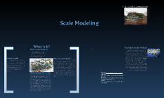 Math Project: Scale Modeling