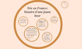 Née en France