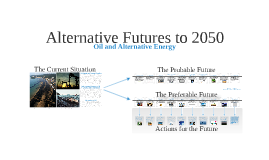 Alternative Futures to 2050
