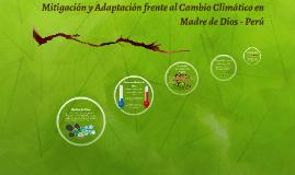 Mitigación y Adaptación frente al Cambio Climático en Madre