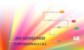 ADC IMPRESIONES