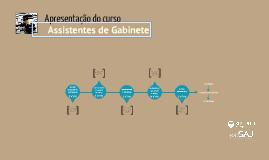 Assistentes de Gabinete