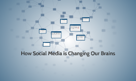 How Social Media is Changing Our Brains