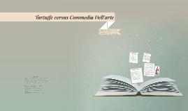 Character Comparison: Tartuffe versus Commedia Dell'arte