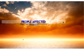 TOTAL: People Affected by Religion