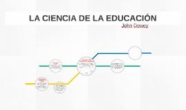 LA CIENCIA DE LA EDUCACIÓN