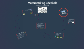 Matematik og udeskole nov. 2014