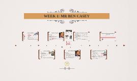 Medical Surgical Nursing: Week 1 Case Study