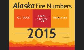2015 Alaska Fire Numbers