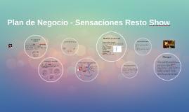 Plan de Negocio - Sensaciones Resto Show