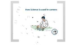 Careers that involve science.