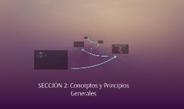 Conceptos y principios Generales