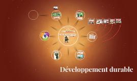 Copy of Développement durable
