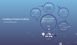 Grading at Fusion Academy