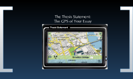 Thesis Statements: The GPS of Your Character Analysis Essay