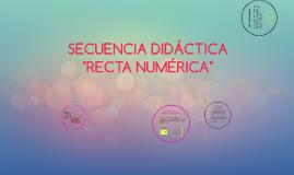 Copy of SECUENCIA DIDÁCTICA RECTA NUMÉRICA