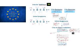 """L'UE suite a la crise des """"sub-primes"""""""
