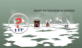 RIGHT TO FREEDOM OF EXPRESSINOS