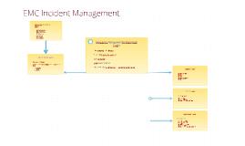 EMC Incident Management