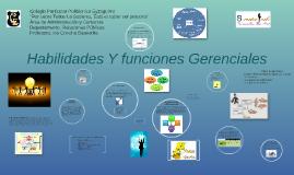 Copy of HABILIDADES Y FUNCIONES GERENCIALES