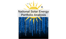 Production Analysis of National Energy