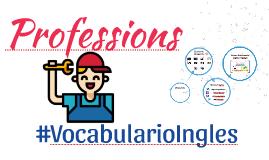 Vocabulario de las profesiones y ocupaciones en ingles con imagenes #1