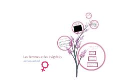 Les femmes et les inégalités