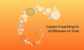 Career Coaching in 10 Minutes or Less