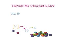 Copy of Teaching Vocabulary