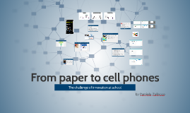 From paper to cell phones Garden school