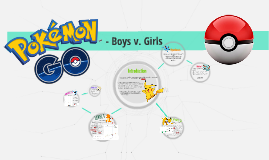 Pokemon GO! - Boys v. Girls