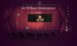 Lebenslauf von Sir William Shakespeare