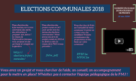 ELECTIONS COMMUNALES 2018