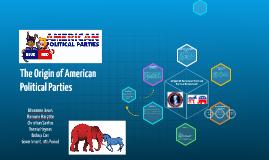 Origin Of American Political Parties