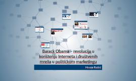 Barack Obama – revolucija u  korištenju Interneta i društven