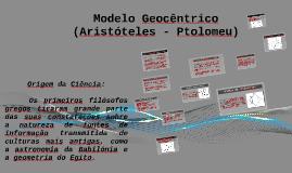 Modelo Geocêntrico