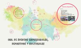 Org. de Eventos Empresariales, Deportivos y Culturales - Clase 12 2C