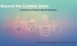 Beyond the Comfort Zone: