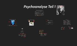 Psychoanalyse Teil 1