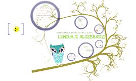 Copy of Lenguaje algebraico