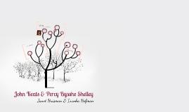 John Keats & Percy Bysshe Shelley