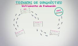 TECNICAS DE DIAGNÓSTICO