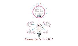 Mammabear Survival Tips!