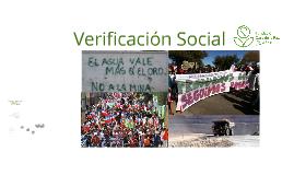 Verificación Social