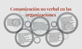 Comunicación no verbal en las organizaciones